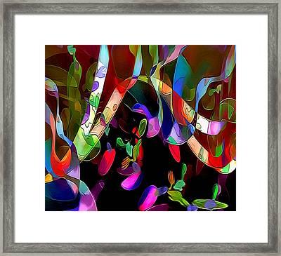 Rhythm Framed Print by Julie Grace