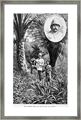 Richard Lynch Garner (1848-1920) Framed Print