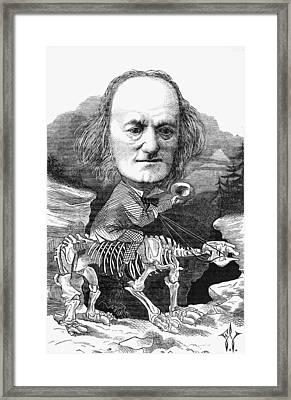 Richard Owen (1804-1892) Framed Print by Granger
