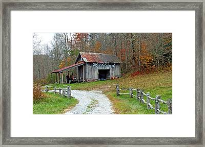Richland Creek Farm Barn Framed Print by Duane McCullough