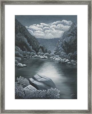 Richland Creek  Framed Print by Garry McMichael