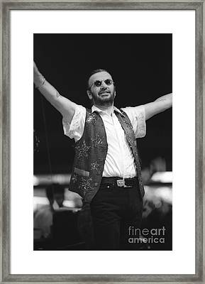 Ringo Starr And His All Starr Band Framed Print