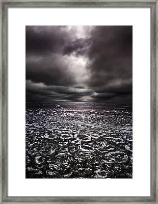 Rings Framed Print by Phil Koch
