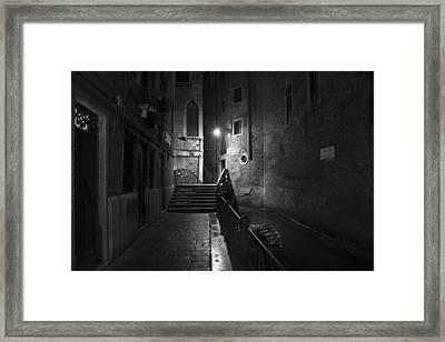 Framed Print featuring the photograph Rio De San Maurizio by Marion Galt