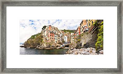 Riomaggiore Italy Framed Print by Carl Amoth