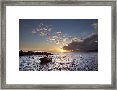 Riomaggiore Framed Print