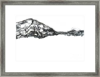 Rippling Surface Framed Print by Michal Boubin
