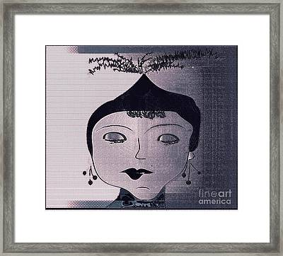 Rita Framed Print by Iris Gelbart