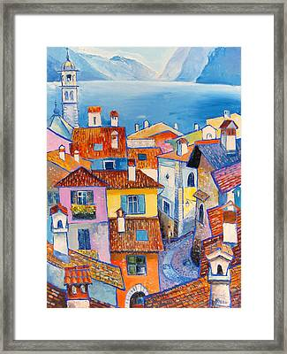 Riva Del Garda Framed Print