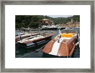 Riva Portofino Framed Print