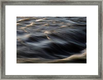 River Flow Framed Print by Bob Orsillo