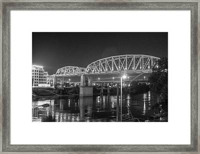 Framed Print featuring the photograph River Reflections by Robert Hebert