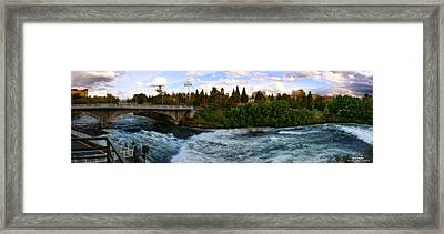 Riverflow Framed Print by Dan Quam