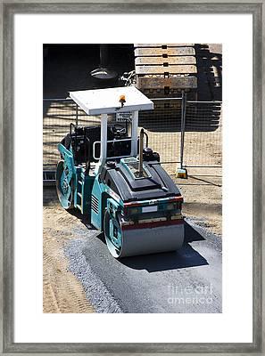 Road Roller Framed Print