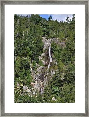 Roaring Brook Falls Framed Print