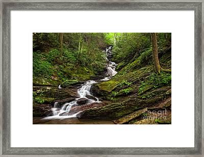 Roaring Fork Falls Framed Print