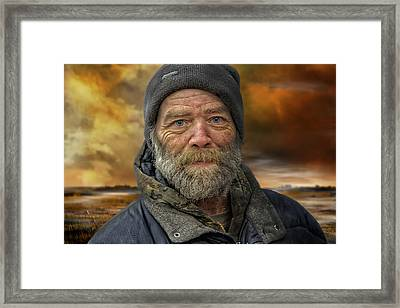 Rob Framed Print