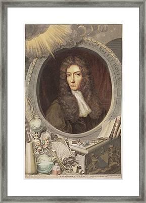 Robert Boyle Framed Print by Paul D Stewart