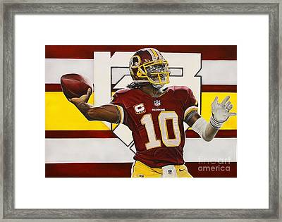 Robert Griffin IIi Framed Print by Anthony Young