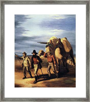 Robert O'hara Burke (1820-1861) Framed Print by Granger