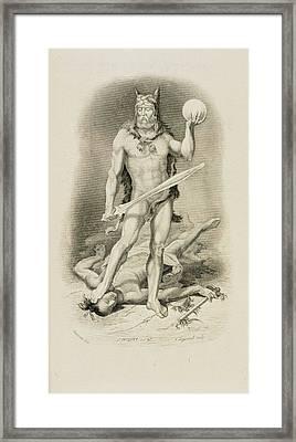 Robinson Crusoe Framed Print by British Library