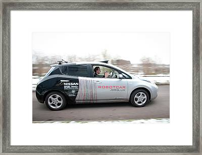 Robotcar Framed Print