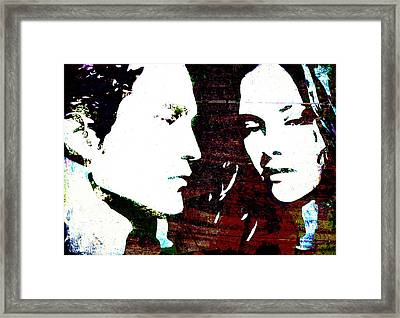 Robsten Framed Print