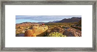 Rock Formations On A Landscape, Bow Framed Print by Panoramic Images