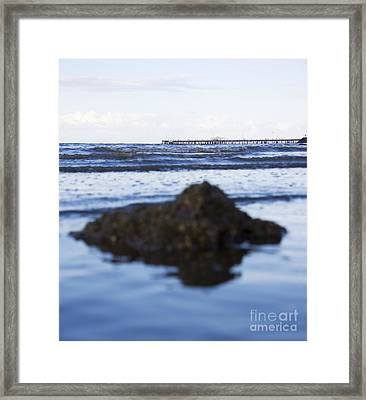 Rocks Apier Like Mountains Framed Print by Jorgo Photography - Wall Art Gallery