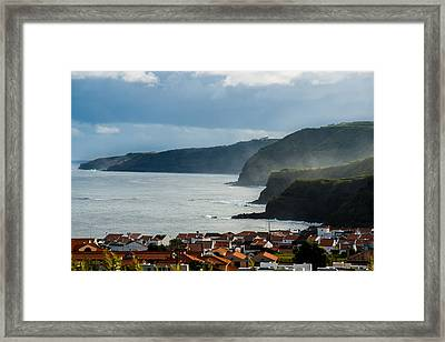 Rocks Of Strength Framed Print
