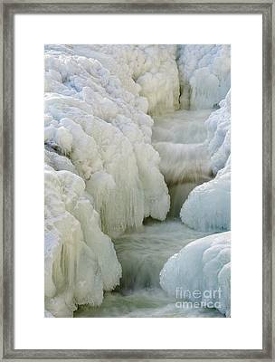 Rocky Gorge Scenic Area - White Mountains New Hampshire Usa Framed Print by Erin Paul Donovan