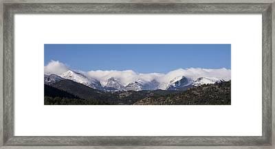 Rocky Mountain National Park - Estes Park Colorado Framed Print by Brian Harig