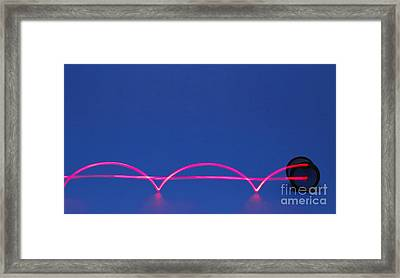 Rolling Motion Framed Print by GIPhotoStock