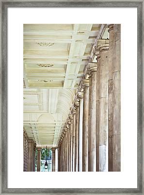 Roman Architecture Framed Print by Tom Gowanlock