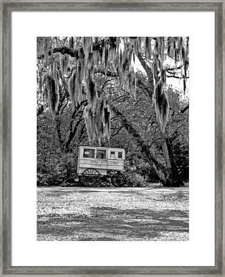 Roman Candy Wagon Framed Print by Ellis C Baldwin