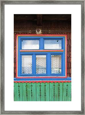 Romania, Maramures Region, Sapanta Framed Print by Walter Bibikow