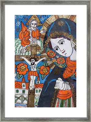 Romania, Transylvania, Sibiel, Zosim Framed Print by Walter Bibikow