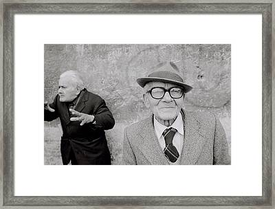 Style Of Italy Framed Print