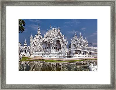 Rong Khun Temple Framed Print