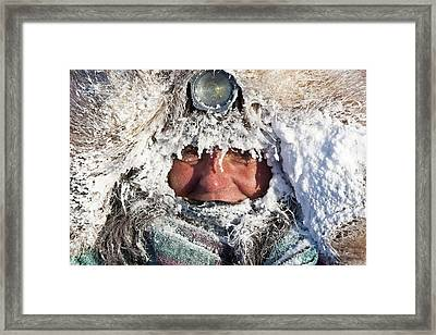 Rookie Michelle Phillips Is Frosted Up Framed Print by Jeff Schultz
