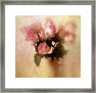 Rose Bouquet Framed Print by Jessica Jenney
