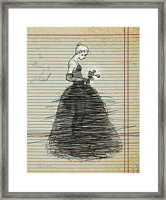Roses Fade Framed Print by H James Hoff