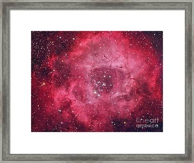 Rosette Nebula Framed Print by Chris Cook