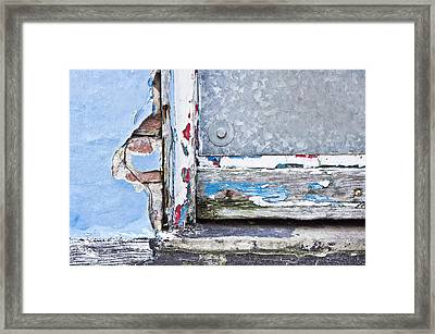 Rotting Wood Framed Print by Tom Gowanlock