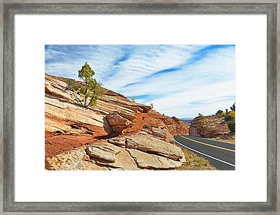 Route 12 - Utah Framed Print