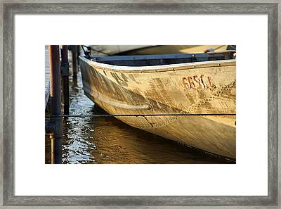 Row Boat Framed Print by Thomas Fouch