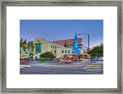 Roy E. Disney Animation Building In Burbank Ca. Framed Print
