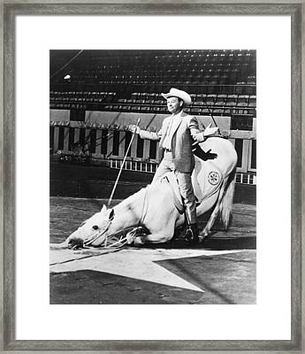 Roy Rogers Framed Print by Retro Images Archive