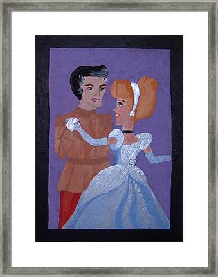 Royal Romantics Framed Print by Yvonne  Kroupa
