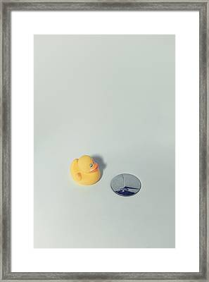 Rubber Duck Framed Print